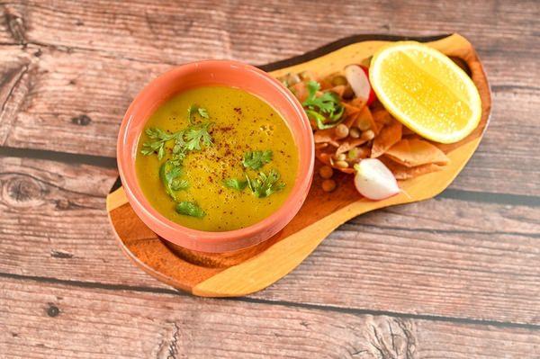 Smokey yellow lentil