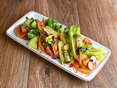 Avocado Fattoush salad
