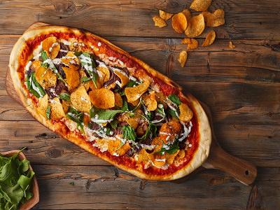Tikka bahraini pizza