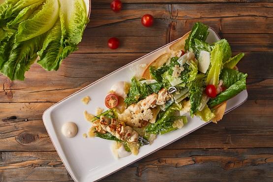 Romaine chicken salad
